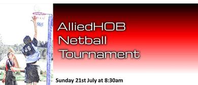 AlliedHOB Netball Tournament 2019
