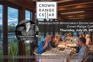 Image for event: Crown Range Cellar Winemakers Dinner