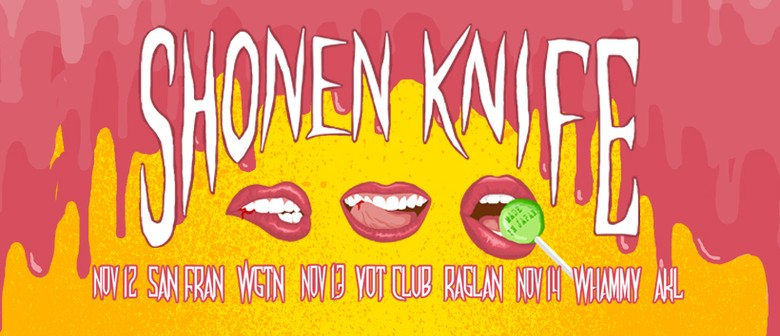 Shonen Knife NZ Tour