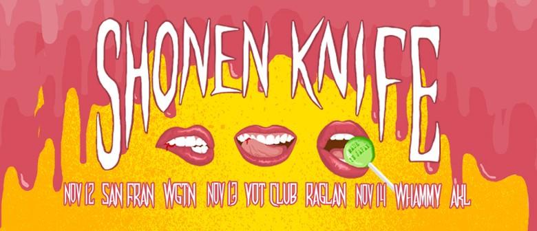 Shonen Knife NZ Tour