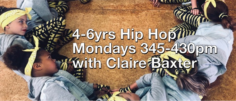 Hip Hop 4-6 Years with Claire