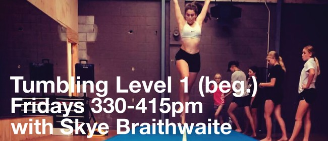 Tumbling Beginners with Skye