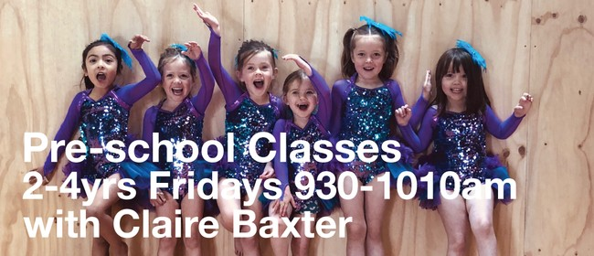 Pre-School Dance 2-4 Years with Claire