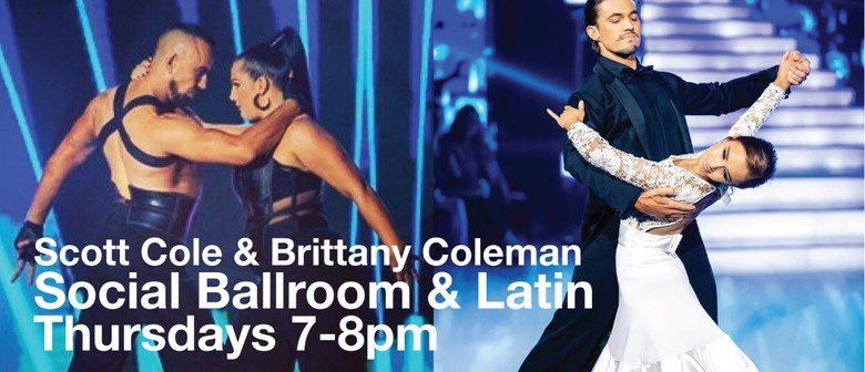 Social Latin & Ballroom with Scott Cole & Brittany Coleman