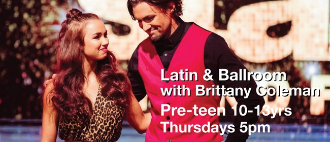 Latin & Ballroom 10-13 Years with Brittany Coleman