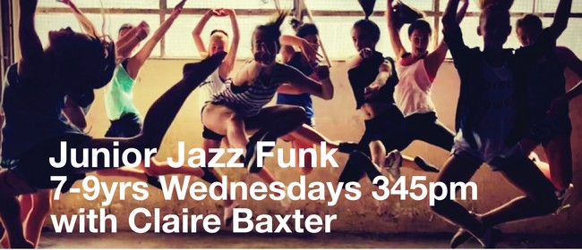 Jazz Funk 7-9 yrs with Claire