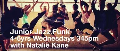 Jazz Funk 4-6yrs with Natalie