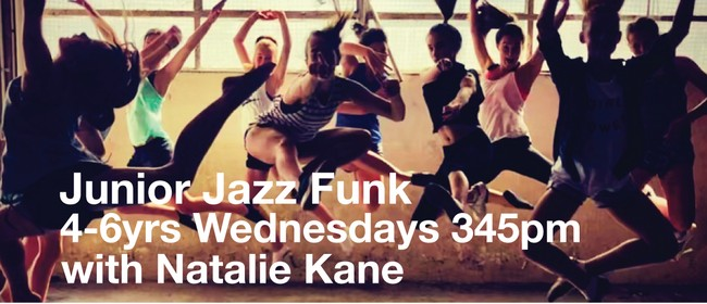 Jazz Funk 4-6yrs with Natalie