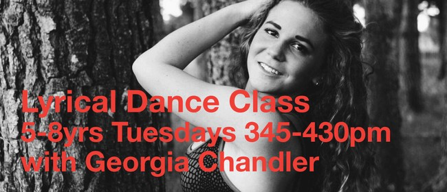 Tuesday Lyrical Dance 5-8 yrs with Georgia