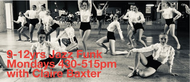 Monday Jazz Funk 9-12 Years with Claire