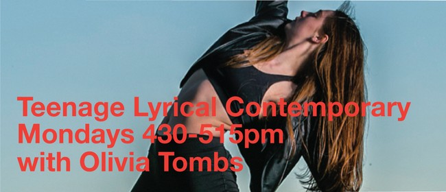 Teen Lyrical Contemporary with Olivia Tombs