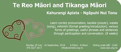 Te Reo and Tikanga Māori