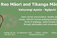 Image for event: Te Reo and Tikanga Māori