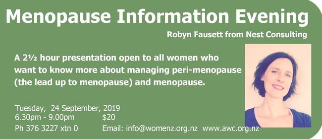 Menopause Information Evening