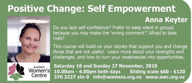 Positive Change: Self Empowerment