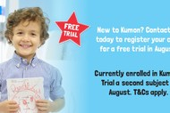 Image for event: Two-weeks Kumon Maths and English Trial