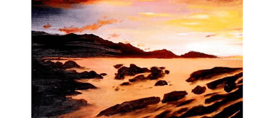 Wine and Paint Party - Kaikoura Sunrise Painting