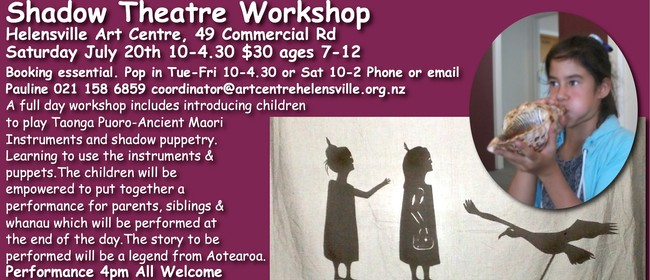 Shadow Theatre Workshop