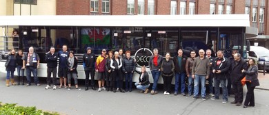 All Blacks v Springboks bus trip from Napier