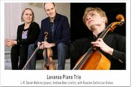 Levansa Trio with Lev Sivkov (Cello)