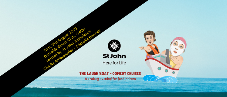 The Laugh Boat - Comedy Cruises - St John Fundraiser