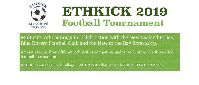 Multicultural Tauranga Ethkick 2019 Tournament