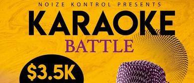 Amateur Karaoke Competition - Noize Kontrol