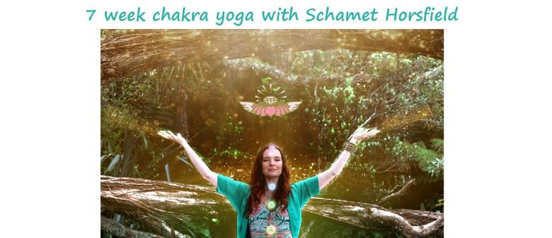 Journey Through the Chakras: 7 Week Chakra Yoga Workshops