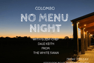 Image for event: Colombo No Menu Night 2019