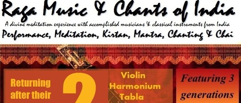 Raga Music & Chants of India 2 - Tauranga - Eventfinda