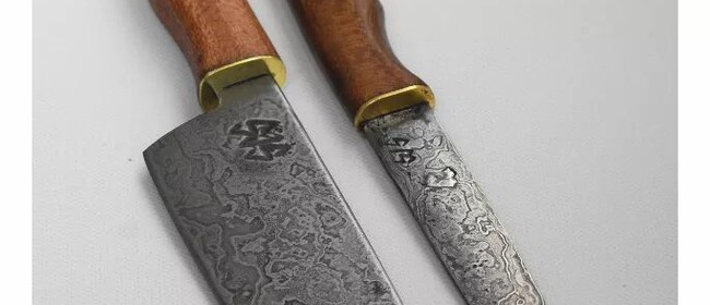 Knife Making - Damascus: SOLD OUT