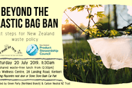 Image for event: Beyond the Plastic Bag Ban: Next Steps for NZ Waste Policy