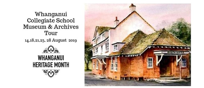 Whanganui Collegiate School Museum & Archives Tours
