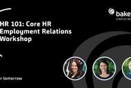 HR 101 - Core HR Employment Relations Workshop