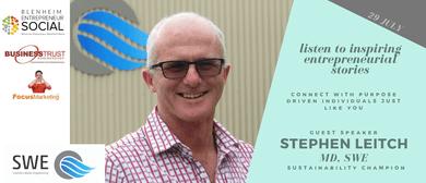 Entrepreneur Social | Stephen Leitch, SWE