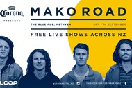 Image for event: Corona Presents Mako Road - Methven