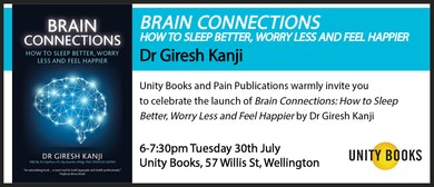 Book Launch - Brain Connections by Dr Giresh Kanji