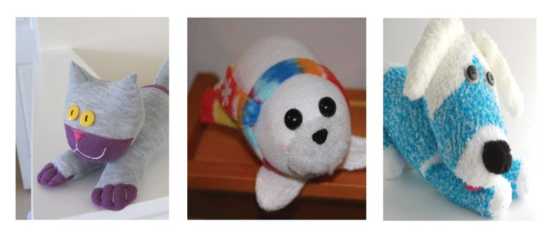 JKH3: Sock Animals With Jessica Hanlon: SOLD OUT