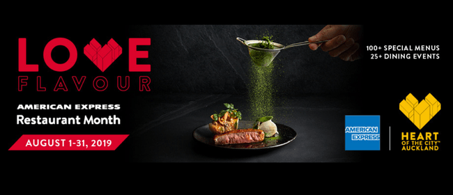 Fire Me Up - American Express Restaurant Month 2019