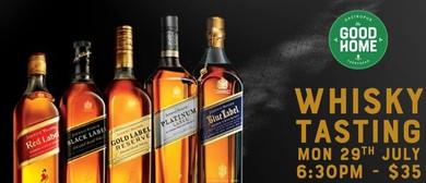 Johnnie Walker Whisky Tasting