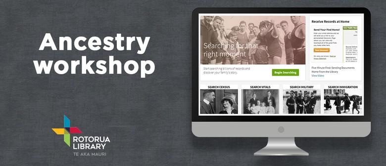 Ancestry com Workshop