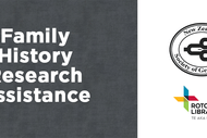 Image for event: Family History Research Assistance