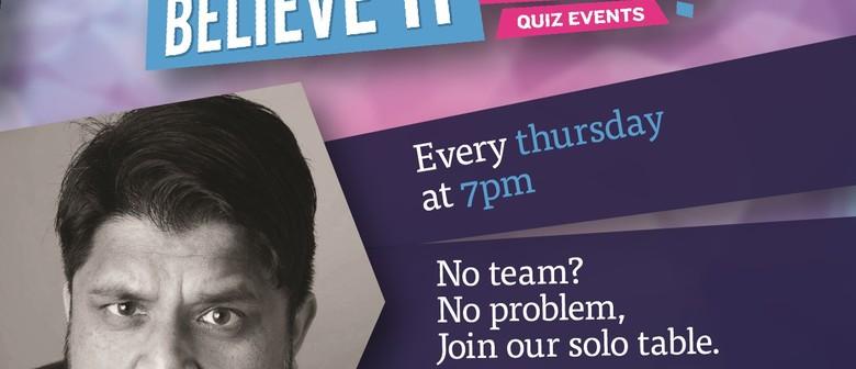 Quiz Night: CANCELLED