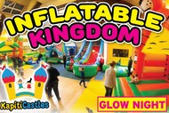 Image for event: Inflatable Kingdom - Glow Night