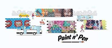 Paint n' Pen: Creative Writing Workshop