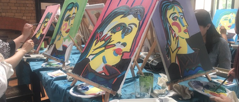 Kids 1 Off Painting Events 'Picasso Yourself' This Weekend!