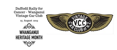 Daffodil Rally for Cancer - Wanganui Vintage Car Club