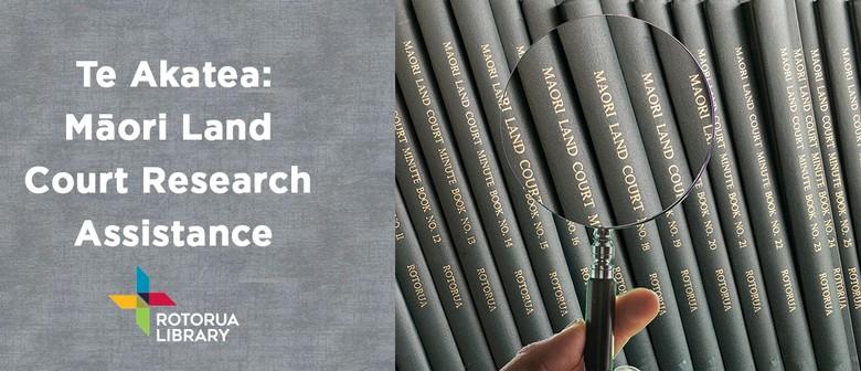 Te Akatea: Maori Land Court Research Assistance