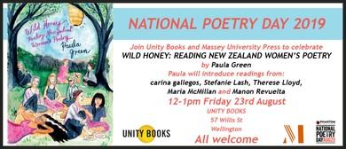 Poetry Day: Wild Honey: Reading New Zealand Women's Poetry