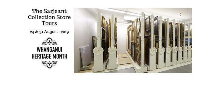 The Sarjeant Collection Store Tours